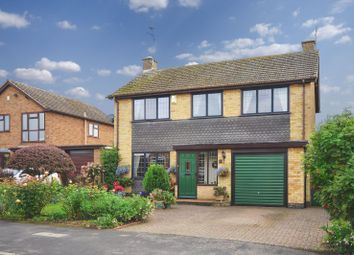 Thumbnail 4 bedroom detached house for sale in The Chase, Great Glen, Leicester