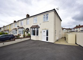 Thumbnail 3 bedroom end terrace house for sale in King Johns Road, Kingswood, Bristol