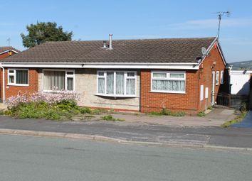 Thumbnail 3 bed semi-detached bungalow for sale in Walton Way, Talke, Stoke-On-Trent