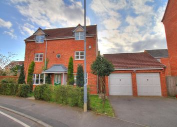 Thumbnail 4 bedroom detached house for sale in Staples Drive, Coalville