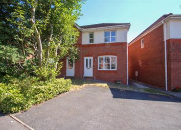 Thumbnail 2 bed semi-detached house for sale in Hyacinth Road, Basford, Stoke-On-Trent