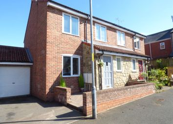 Thumbnail 3 bed semi-detached house for sale in Perrystone Mews, Bedlington
