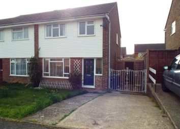 Thumbnail 3 bedroom semi-detached house to rent in Anglesey Avenue, Hailsham