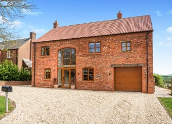 Thumbnail 4 bed detached house for sale in Mill Lane, Burgh On Bain