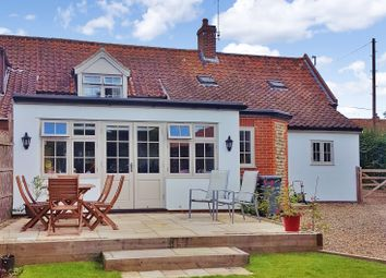 Thumbnail 4 bed cottage for sale in The Street, St. James, Coltishall, Norwich