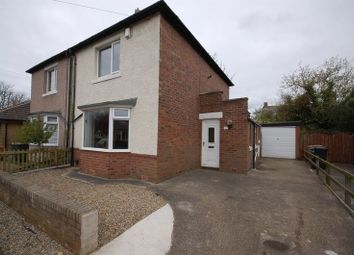 Thumbnail 2 bed semi-detached house to rent in Leybourne Avenue, Forest Hall, Newcastle Upon Tyne