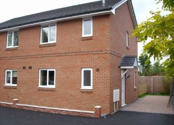 Thumbnail 2 bed semi-detached house to rent in Highgrove Lane, Westfields, Hereford