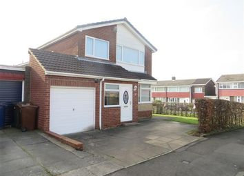 Thumbnail 3 bed detached house for sale in Elgar Avenue, Chapel House, Newcastle Upon Tyne