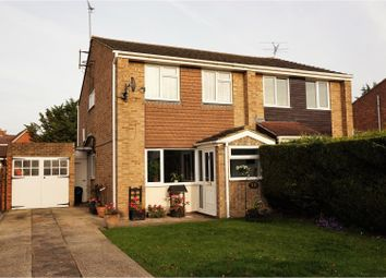 Thumbnail 3 bedroom semi-detached house for sale in Chatsworth Avenue, Wokingham