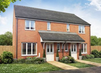 "Thumbnail 3 bed end terrace house for sale in ""The Hanbury"" at Buckingham Court, Harworth, Doncaster"