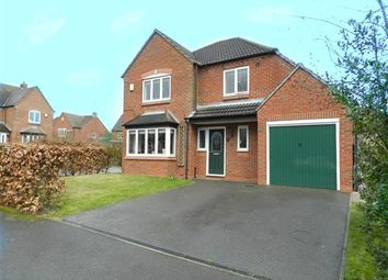 Thumbnail 4 bed detached house for sale in Chestnut Close, Harlow Wood, Mansfield