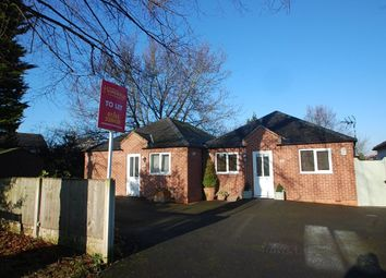 Thumbnail 1 bed bungalow to rent in Hall Lane, Willington, Derbyshire