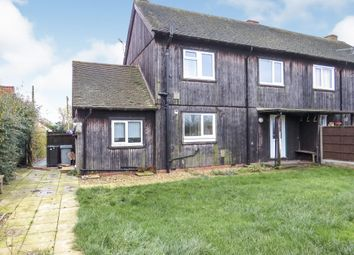 3 bed semi-detached house for sale in Donington Road, Horbling, Sleaford NG34