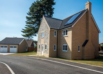 Thumbnail 4 bed detached house for sale in Plot 9, Roxbury Drive, East Harling