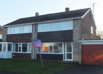 Thumbnail 3 bed semi-detached house to rent in Hawkeridge Park, Westbury, Wiltshire