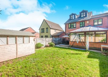 Thumbnail 4 bedroom detached house for sale in Gittisham Close, Exeter