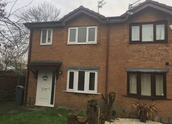 Thumbnail 3 bed terraced house to rent in Oadby Close, Manchester