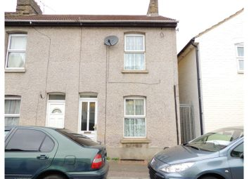 Thumbnail 2 bed end terrace house for sale in Edinburgh Road, Chatham