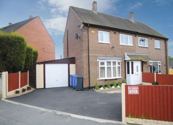Thumbnail 3 bed semi-detached house for sale in Tiverton Road, Berryhill, Stoke-On-Trent