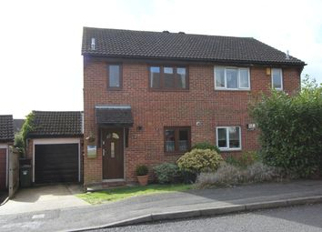 Thumbnail 3 bed semi-detached house for sale in Lionheart Way, Bursledon, Southampton