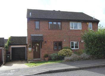 Thumbnail 3 bed semi-detached house for sale in Lionheart Way, Bursledon, Southampton