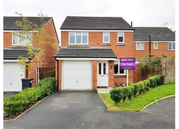 Thumbnail 3 bed detached house for sale in Brent Close, Newcastle