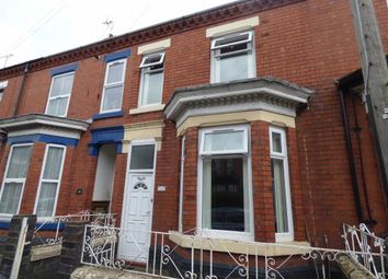 Thumbnail 3 bed terraced house for sale in Walthall Street, Crewe