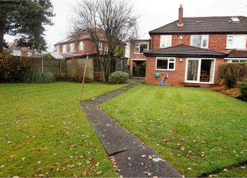 Thumbnail 4 bed semi-detached house for sale in Stalmine Avenue, Heald Green