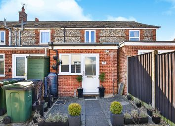 Thumbnail 2 bedroom terraced house for sale in Ash Close, Swaffham