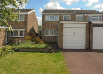 Thumbnail 3 bed semi-detached house to rent in Whitworth Way, Wilstead, Bedford
