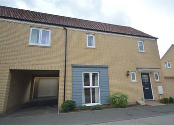 Thumbnail 3 bed semi-detached house for sale in Maze Avenue, Queens Hill, Costessey, Norwich, Norfolk
