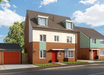 "Thumbnail 4 bed property for sale in ""The Thornton At Bardon View, Coalville"" at Bardon Road, Coalville"