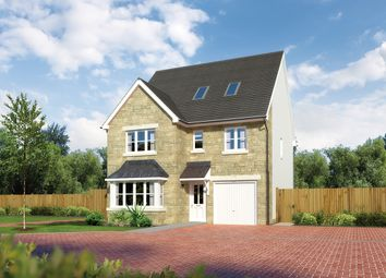 "Thumbnail 6 bedroom detached house for sale in ""Longrush"" at Letham Views, 9 Holme Avenue, Haddington"