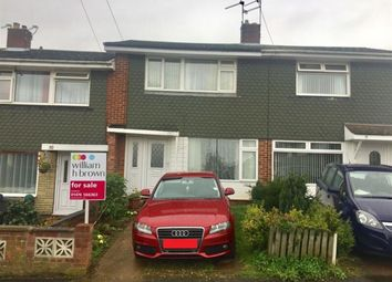 Thumbnail 3 bed terraced house for sale in Hillingford Way, Grantham
