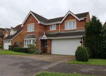 Thumbnail 4 bed detached house for sale in Forest House Lane, Leicester Forest East