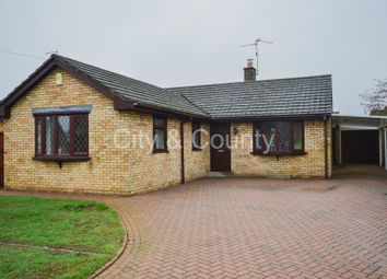 Thumbnail 3 bed detached bungalow for sale in Pembroke Avenue, Orton Waterville, Peterborough