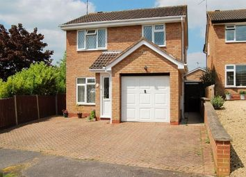 Thumbnail 3 bed detached house for sale in Somerville Road, Stefan Hill, Daventry