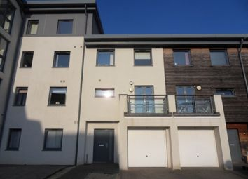 Thumbnail 3 bed town house to rent in St Catherines Court, Marina, Swansea