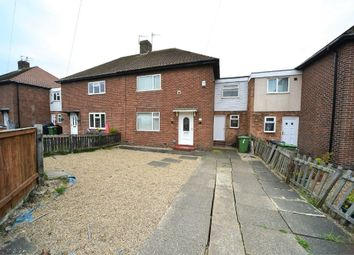 Thumbnail 3 bed semi-detached house for sale in Polworth Square, Sunderland, Tyne And Wear