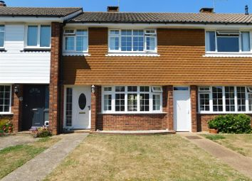 Thumbnail 3 bed terraced house to rent in Guildford Close, Worthing
