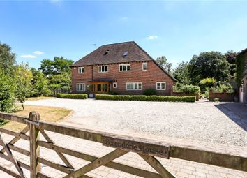 Thumbnail 8 bed detached house for sale in Church Road, Upper Farringdon, Alton, Hampshire