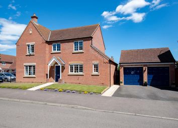 Thumbnail 4 bed detached house for sale in Nursery Way, Spalding