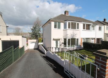 Thumbnail 3 bed semi-detached house for sale in Merafield Drive, Plympton, Plymouth