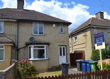 Thumbnail 4 bed semi-detached house to rent in Stretten Avenue, Cambridge
