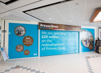 Thumbnail Retail premises to let in Princes Quay Shopping Centre, Hull