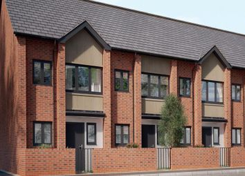 Thumbnail 2 bed town house for sale in Wharncliffe Road, Loughborough