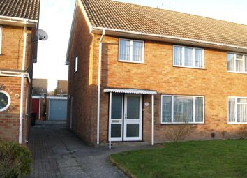 Thumbnail 3 bed semi-detached house to rent in Kipling Close, Crawley
