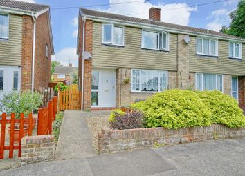 Thumbnail 3 bed semi-detached house for sale in Sandwich Road, St. Neots