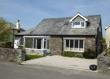Thumbnail 4 bed detached bungalow for sale in Trenale Lane, Tintagel
