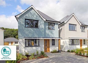 Thumbnail 4 bed detached house for sale in Selfridges, Rose Gardens, Highcliffe, Christchurch, Dorset